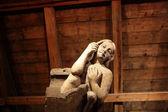 Sculptuur in Kruittoren — Stockfoto