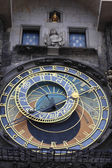 View of astronomical clock — Stock fotografie