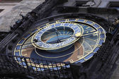 Fragment of astronomical clock — Stock Photo