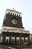 Fassade der kirche des heiligen herzens — Stockfoto