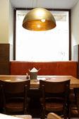 Interieur van café — Stockfoto