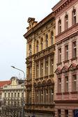 Typical Prague building — Stock Photo