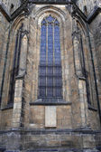 Window of St. Vitus Cathedral — Stock Photo