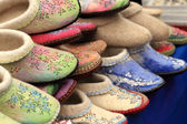 Felt slippers — Stock Photo