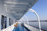 Details of a cruise ship — Stock Photo