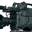Stock Video: Professional digital video camera.
