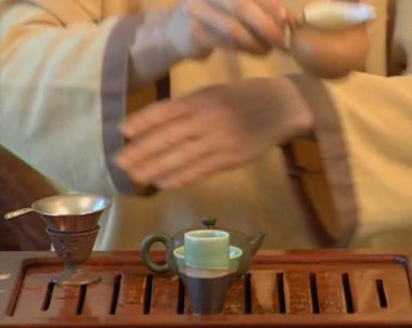 Tea ceremony. Episode #6 — Wideo stockowe