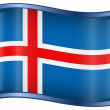 Iceland Flag icon. — Stock Vector #1858700
