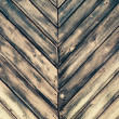 Texture of burned wood planks - Stock Photo