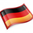 Germany Flag Icon — Stock Photo