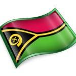 Постер, плакат: Vanuatu Flag icon