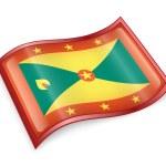 Постер, плакат: Grenada flag icon