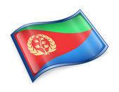 Eritrea Flag icon. — Stock Photo
