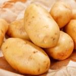 Картофель свежий — Стоковое фото