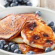 Blueberry pancakes — Stock Photo #12643812