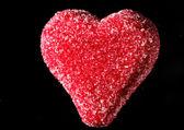 Marzipan heart — Stock Photo