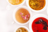 Unique kinds of tea — Stock Photo