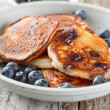 Blueberry pancakes — Stock Photo #12893885
