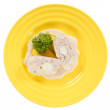 Stuffed chicken fillet - Foto Stock