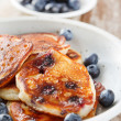 Blueberry pancakes — Stock Photo #13605828