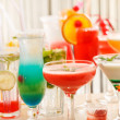 Cocktails in the bar — Stock Photo