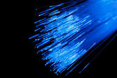 Fiber optic abstract background — Stock Photo