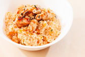 Rice with chicken — Stock Photo