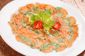 Fish Carpaccio — Foto de Stock