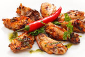 Grilled chicken — 图库照片