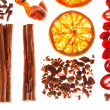 Christmas spices - Foto Stock