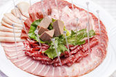 Meat appetizer — Stock fotografie