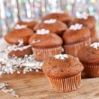 Chocolate cupcakes - Stock fotografie