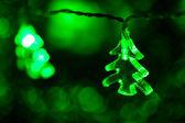 árbol de navidad la luz — Foto de Stock