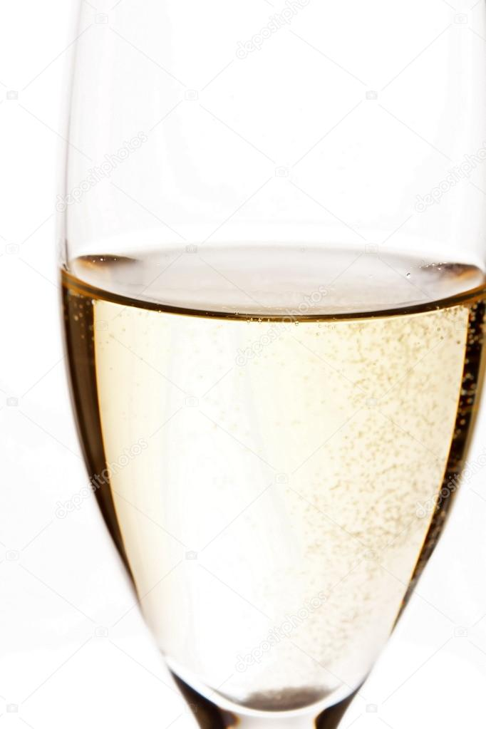 A glass of champagne — Stock Photo #14678461