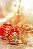 Noel dekorasyon. — Stok fotoğraf