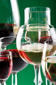 Wine glasses — Stock Photo