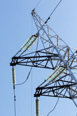 High-voltage tower — Stockfoto