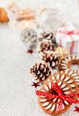 Noel tatlılar — Stok fotoğraf