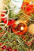 Dekorację świąteczną. — Zdjęcie stockowe