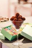 Dolci al cioccolato — Foto Stock
