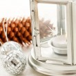 Foto Stock: Christmas candle