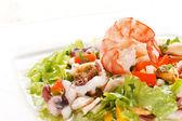 морепродуктів салат — Stok fotoğraf