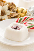 Christmas dessert — Stock Photo