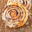 Freshly baked cinnamon rolls — Stock Photo #16951811