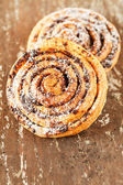 Freshly baked cinnamon rolls — Stock Photo