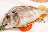 Pesce arrosto — Foto Stock