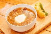 Tasty soup — Stock Photo