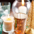 Christmas candles - Foto Stock