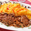Rice with meat — Stock Photo #17487809