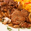 Rice with meat — Stock Photo #17681957